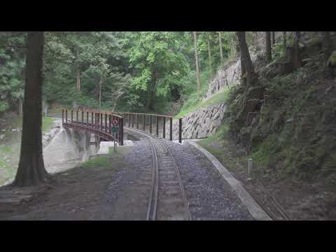 台鐵 阿里山森林鐵路【阿里山火車碰壁】郵輪式列車 二萬平站 -祝山站 路程景 Alishan Forest Railway Train