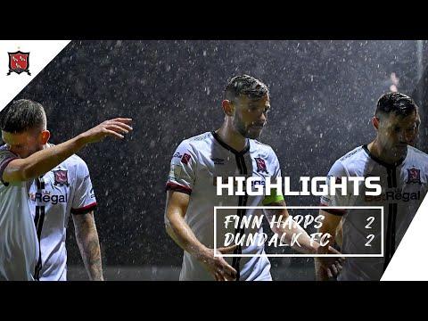 Highlights | Finn Harps 2 2 Dundalk FC