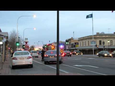 South Australia Fire Truck | Port Road| Port Adelaide | Priority 1