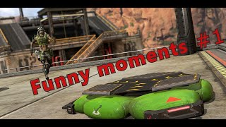 APEX LEGENDS : Смешные моменты со стрима #1   (Funny moments from stream)