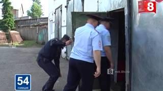 Рабочая поездка в Кыштовку Северное 20 06 2015