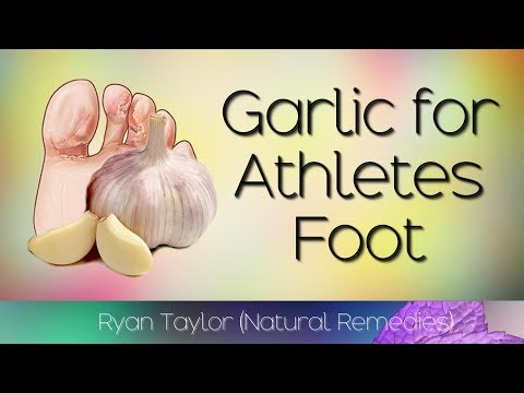 Garlic: for Athlete's Foot