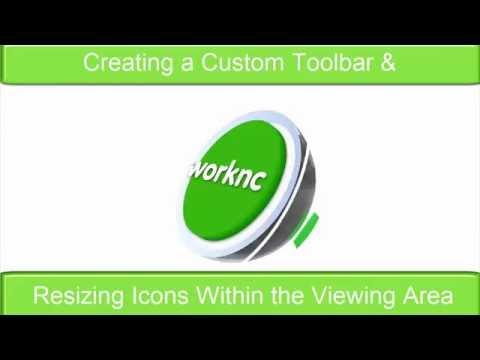 사용자 맞춤형 툴바와 아이콘