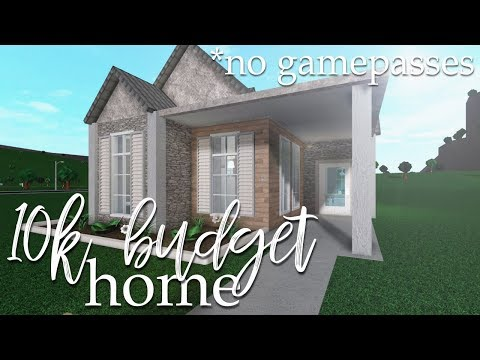 ROBLOX | Bloxburg: 10k No Gamepass Home