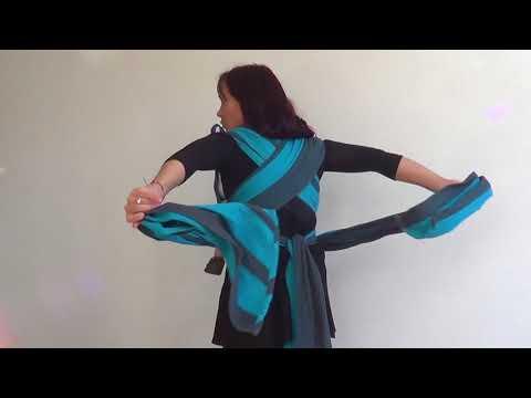 Mei Tai: frente, lado e costas