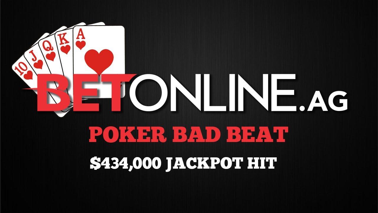 Poker bad beat jackpot stories