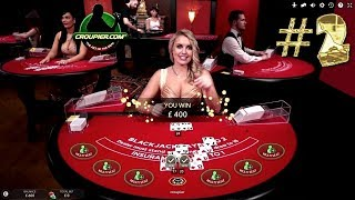 Online BLACKJACK VIP Dealer £100 MINIMUM BETS PART 2 Real Money Play at Mr Green Online Casino