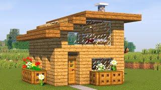 Как построить красивый дом в майнкрафт? Майнкрафт 1.16.4