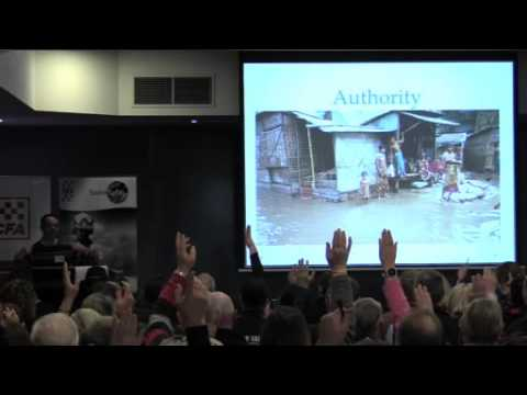 Community Participation in Emergency Management - Brian Cook (University of Melbourne)