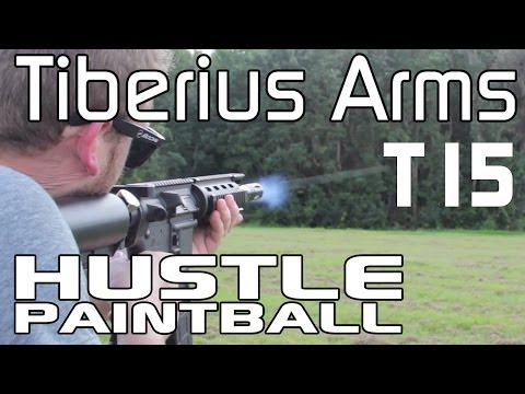 Tiberius Arms T15 (Magfed FSR Paintball Gun) First Look at PSP World Cup by HustlePaintball.com