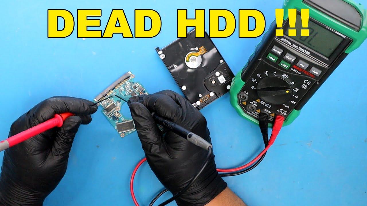 how to repair a dead hard drive