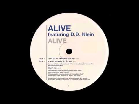 ALIVE ft D D Klein ALIVE (Stella Browne Vocal Mix) HQwav