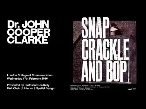 Dr John Cooper Clarke 'Beasley Street/ Beasley Boulevard'