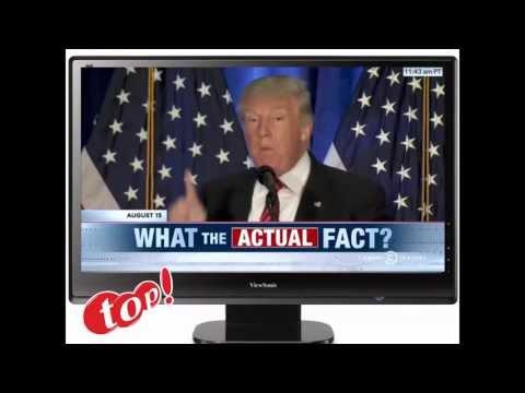 笑える   面白   ドナルドトランプとヒラリークリトントン面白いクリップ|  アメリカ大統領