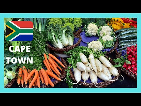 CAPE TOWN, the Food Market on St George's Street (SOUTH AFRICA)