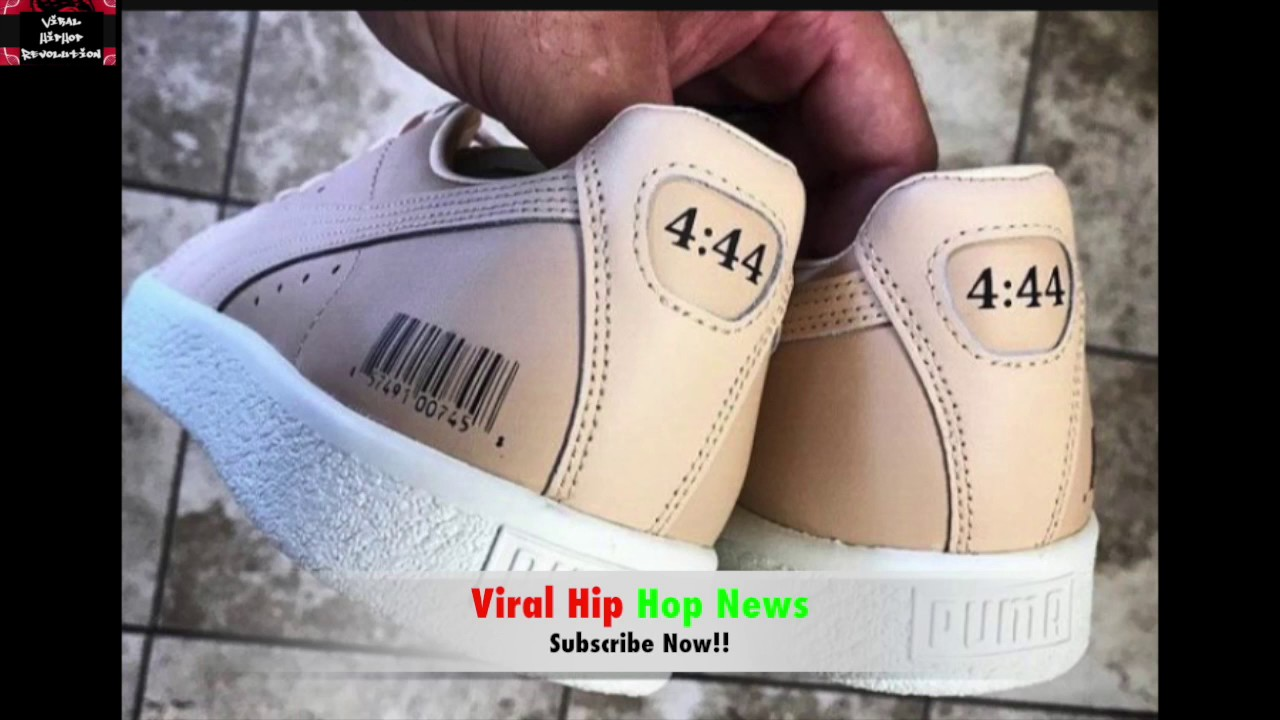 caab3ab868e7 JAY-Z Set To Launch OFFICIAL 4 44 Sneaker W  Puma!! - YouTube