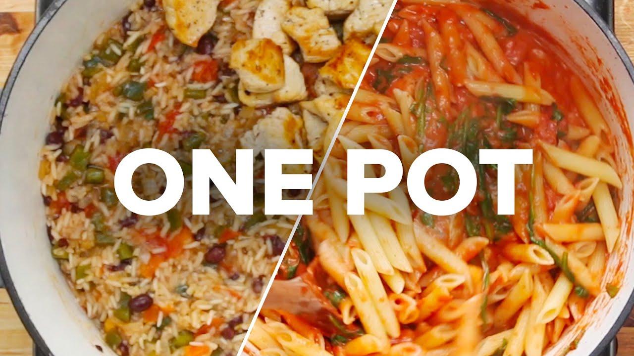 31 One Pot Recipes Youtube