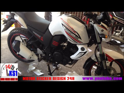 Yamaha fzs walkaround fz s modified ks designer