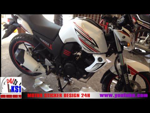 Yamaha fzs walkaround fz s modified ks designer