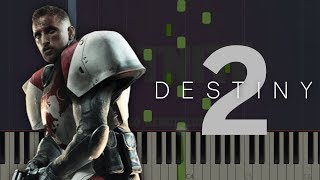 Journey - Destiny 2 | Piano Tutorial & Sheet Music