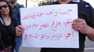 مزارعون يتظاهرون ضد قرار وزارة الزراعة المتعلق باستيراد الزيتون من الاحتلال  - (3/10/2019)