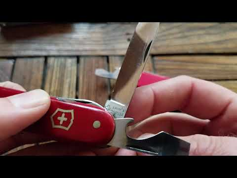 The First Version Of The Victorinox Fisherman