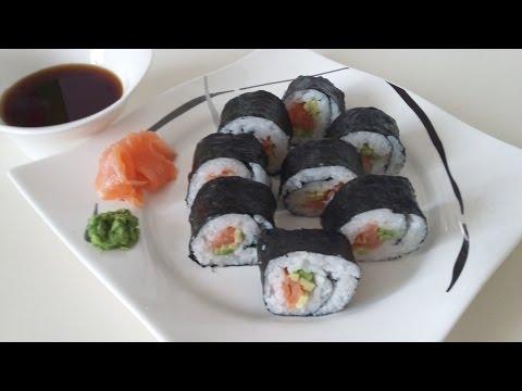 рецепты суши с лососем в домашних условиях рецепт