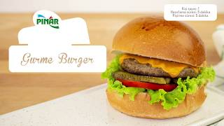 Gurme Burger Nasıl Yapılır? – Evde Lezzetli Hamburger Yapımı / Pratik Yemek Tarifleri