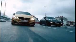 Небольшая зарисовка с города Сочи BMW M4 и Porsche Panamera