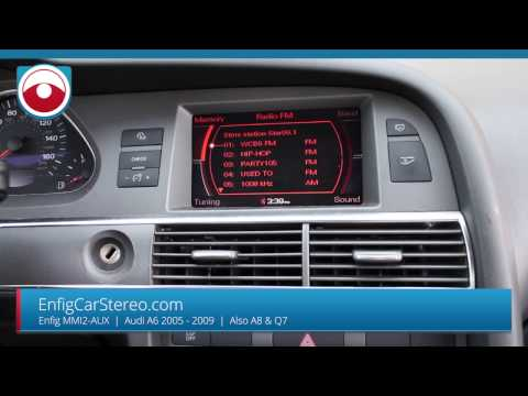 AUX Install Audi A6 05-09 MMI2 - Also for A8 & Q7