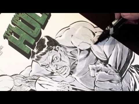 Tim Vigil: Using Grayscale Markers (Copic/Prismacolor)