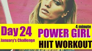 QUICK HIIT WORKOUT - just 4 minutes and suitable for every fitness level.l t