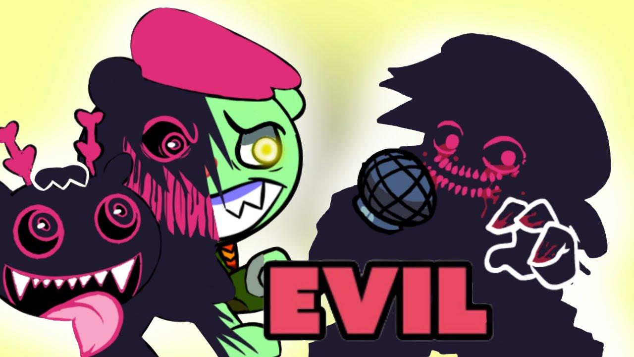 FRIDAY NIGHT FUNKIN Flippy VS Evil boyfriend day 4