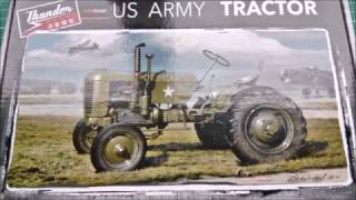 Inbox Review - Thunder Models Kit #35001, U.S. Army Tractor Case VAI