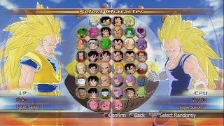 Dragon Ball: Raging Blast All Characters [PS3]