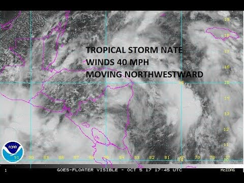 TROPICAL STORM NATE THREAT TO THE CENTRAL GULF COAST SUNDAY
