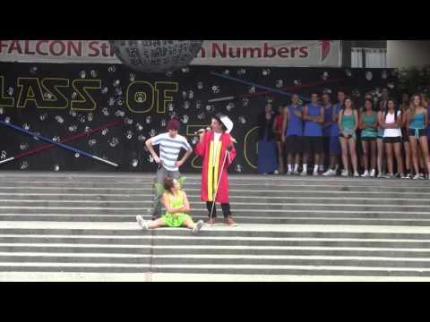 2015 Saratoga High School Homecoming Quad Day - Juniors