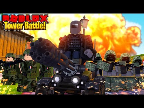 OUR BEST GAME EVER! TOWER BATTLES IN ROBLOX