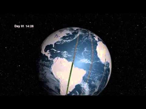 Landsat 8's Unique Orbit Has Earth Covered | NASA Space Science HD