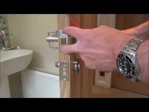 How To repair a faulty broken Door Handle Latch