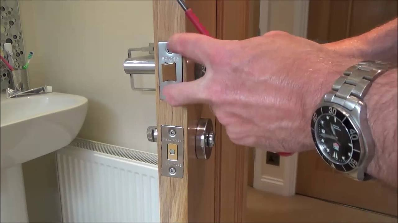 How To repair a faulty broken Door Handle Latch - YouTube
