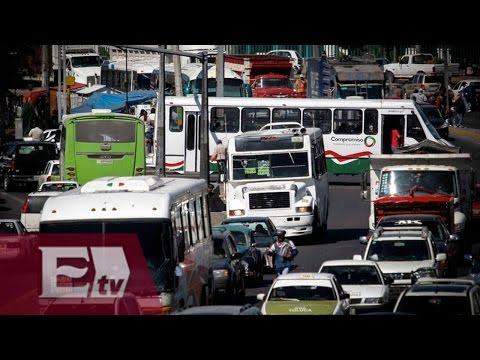 Irregularidades en el transporte público del Estado de México / Francisco Zea