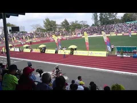 Clip đua xe mô tô tại TP Cần Thơ 11.2.2016 (mùng 4 Tết Bính Thân)
