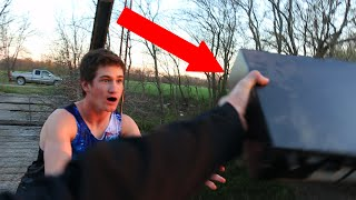Insane Kid Throws Brother'S Xbox One Off Bridge!!