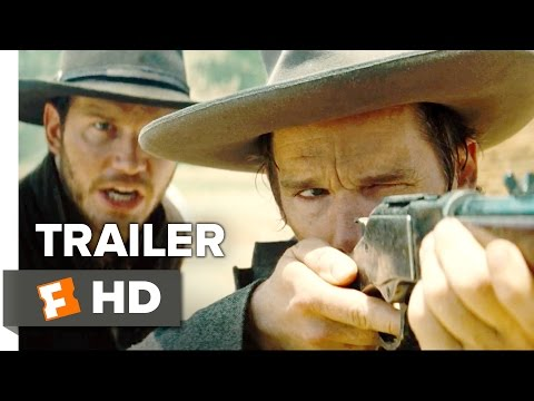 The Magnificent Seven Official International Trailer 1 (2016) - Denzel Washington Movie