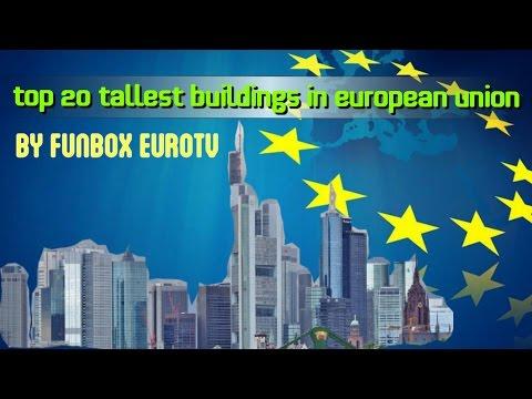 TOP 20 TALLEST SKYSCRAPERS IN EUROPEAN UNION 2015 [HD]
