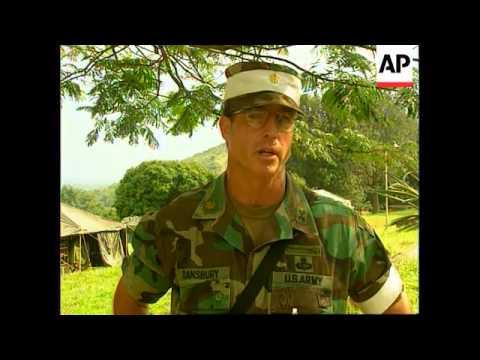 Uganda - US Special Forces training
