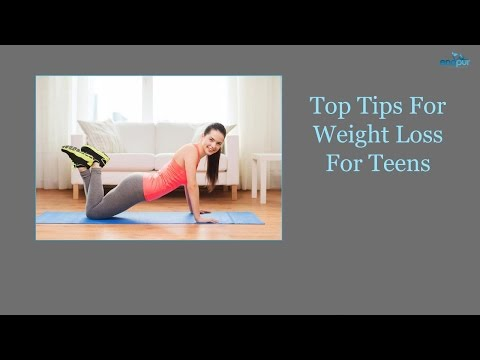How to Lose Weight FAST and EASY for Teenagers! –  Top Tips Weight Loss For Teens