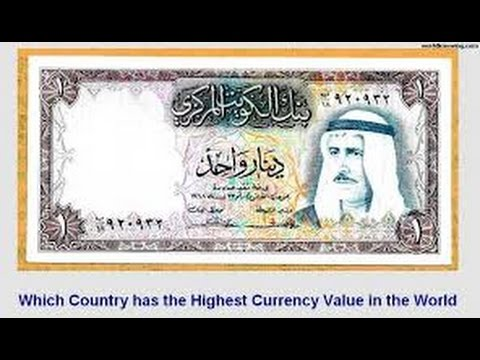 Which Country Has The Highest Currency Value In World