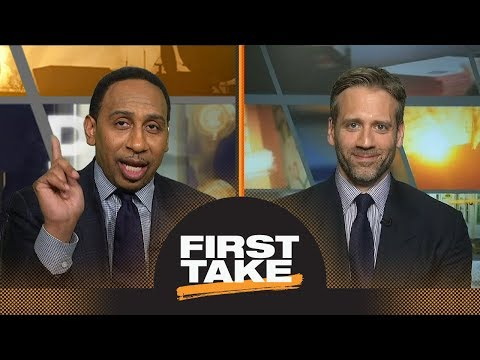 Stephen A. shuts down Max's response to question about Rockets' Achilles heel | First Take | ESPN